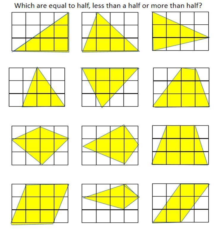 shaded shapes